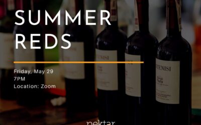 Virtual Wine Tasting: Summer Red Wine Tasting